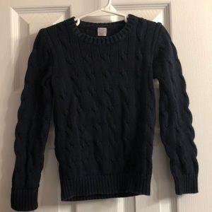 J Crew crewcuts navy sweater